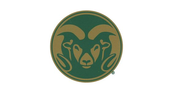 "Stockdale Colorado State Rams 4"" x 4"" Magnet"