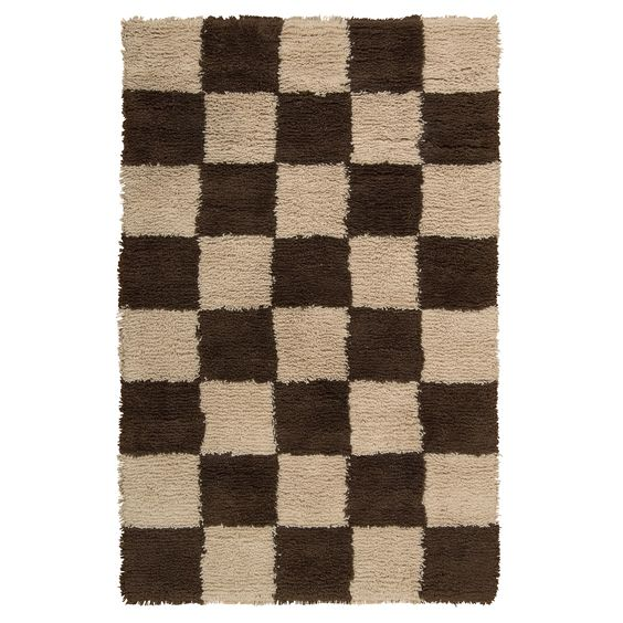 Nourison Splendor /Brown Shag Area Rug