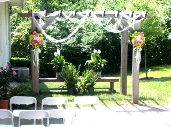 simple outdoor wedding ideas for summer | decoracion | Pinterest ...