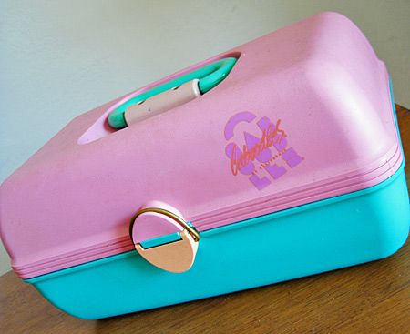 Caboodles - I so had one of these in the 80's for my make up in high school lol