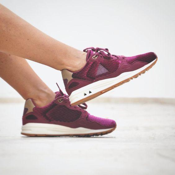 buy popular 850f9 ab6b9 ... sky blue ... yellow  le coq sportif womens shoes silver purple .. ...