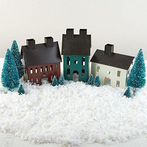 Amazon Com Factory Direct Craft Tin Painted Christmas Saltbox