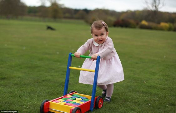 Princess Charlotte in new pictures released to mark her first birthday   Daily Mail Online