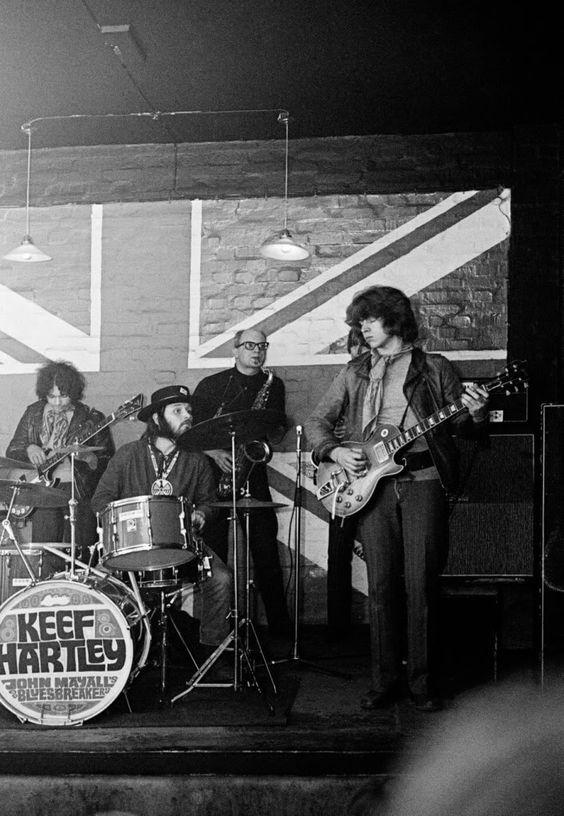 Mick Taylor John Mayall Bluesbreakers