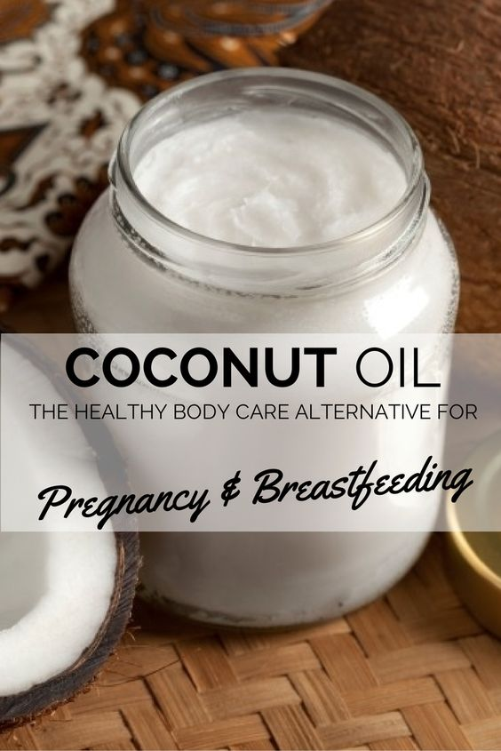 Coconut Oil. The healthy body care alternative for pregnancy and breastfeeding.