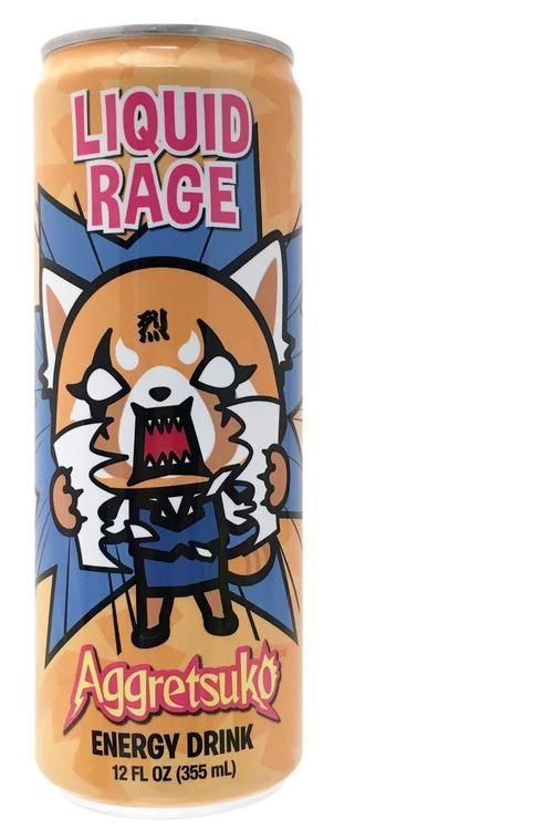 AGGRETSUKO Beer Can Drinking Bottle