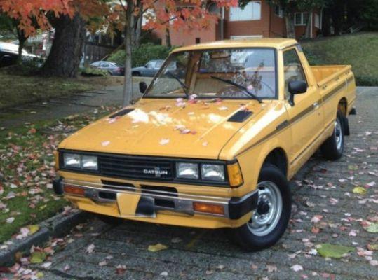 Original 1980 Datsun 720 Pickup Nissan Camioneta Nissan Camionetas