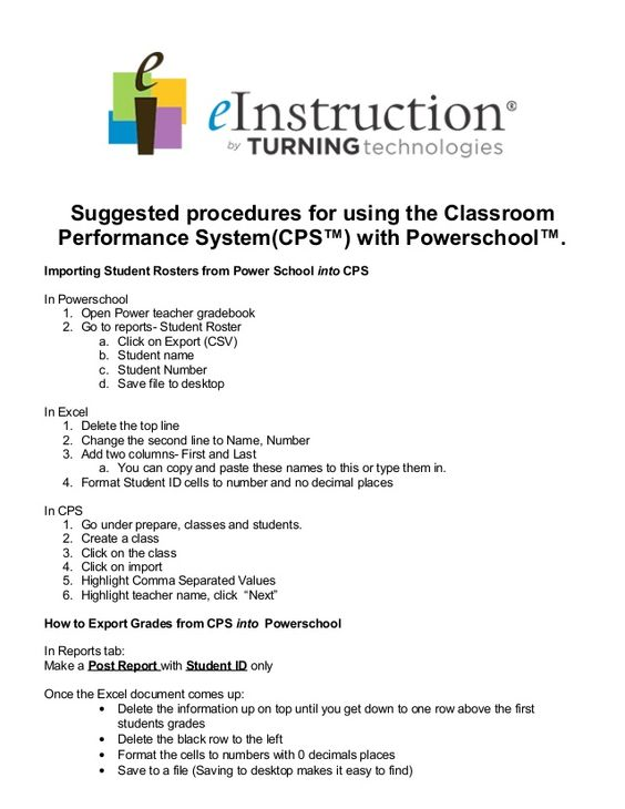 Using powerschool with cps 2014 by William  McIntosh via slideshare