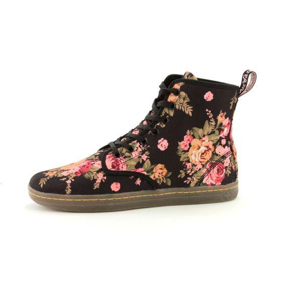 Amazing Women  Designer Boots  Dr Martens  Dr Martens Pink W Floral