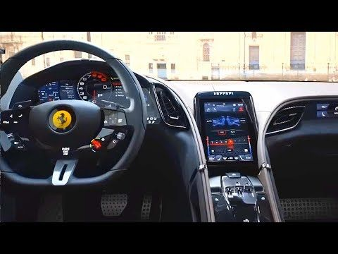 2020 Ferrari Roma 620 Hp Turbo V8 New 8 Speed Dual Clutch