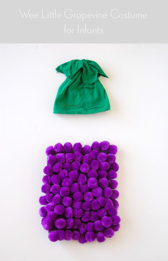 BABIES: DIY grape costume - Really Awesome Costumes