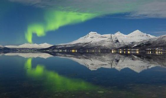 The best time of year to spot the Northern Lights in Iceland is between November and March