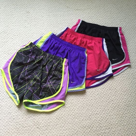 NIKE DriFit XS Shorts Bundle BUNDLE of gently used Nike Dri-fit shorts all in great condition! Feel free to make an offer or ask questions! Nike Shorts