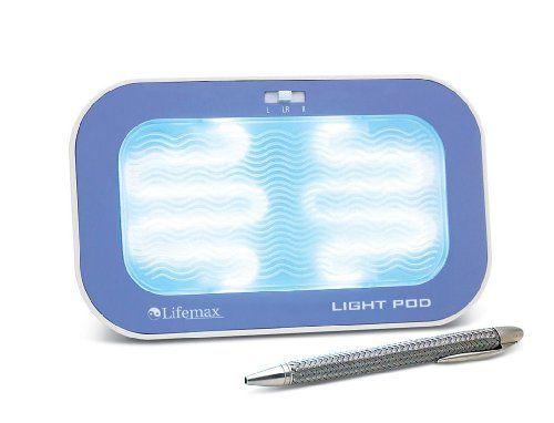 Lifemax Light Pod 107a SAD Simulated Daylight Box Lifemax http://www.amazon