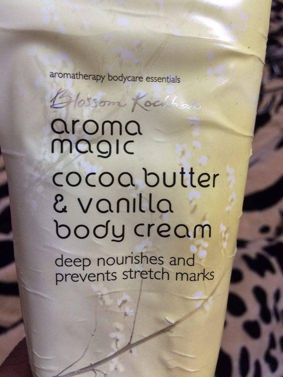Blossom kochar cocoa butter and vanilla body cream review