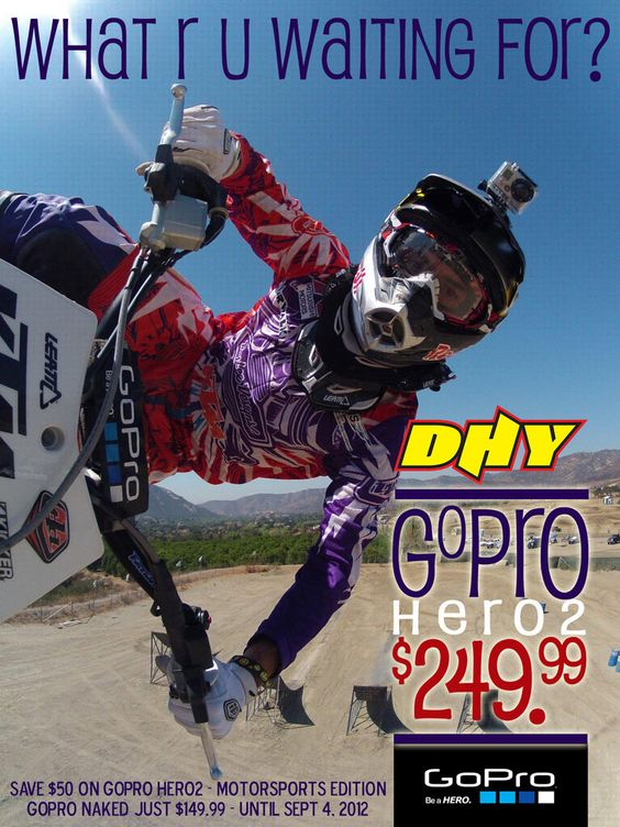 GoPro Hero2 Motorsports edition for just $249.99 now at DHY!
