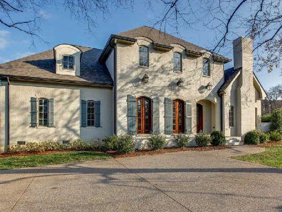 806 Lynnwood Blvd Nashville Tn 37205 Zillow Chrisley Knows Best House Exterior Brick House Exterior