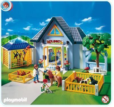 Playmobil 4343 - Cl�nica Veterinaria - Comprar ahora || deMartina.com