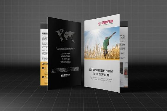 Bifold Business Brochure Bundle by Madhabi Studio on Creative - studio brochure