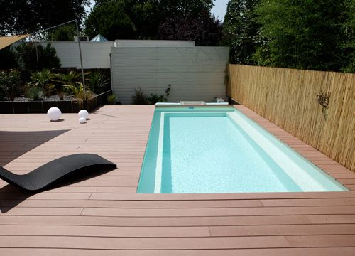 Piscine hors sol on pinterest - Piscine hors sol en beton ...