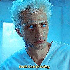 death is not an ending
