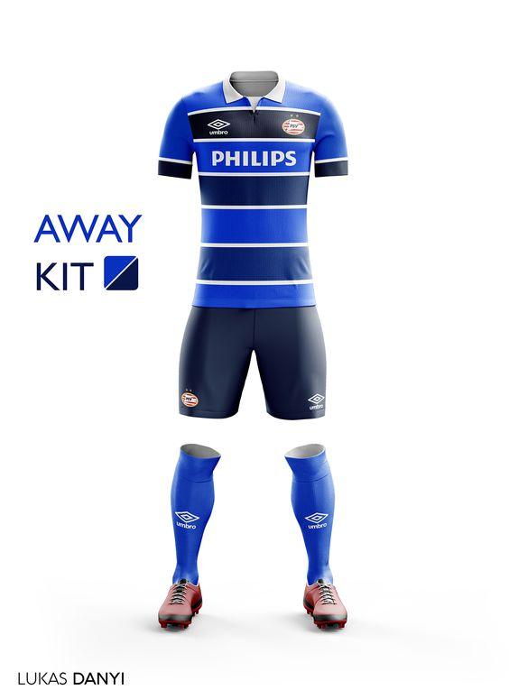 I designed football kits for PSV for the upcoming season 16/17.