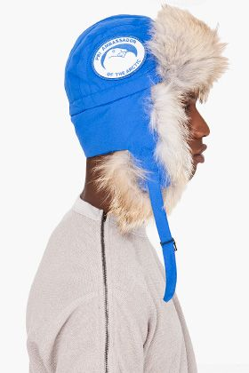 Canada Goose kensington parka online store - Blue Coyote Fur Aviator Hat | Aviator Hat, Canada Goose and Canada