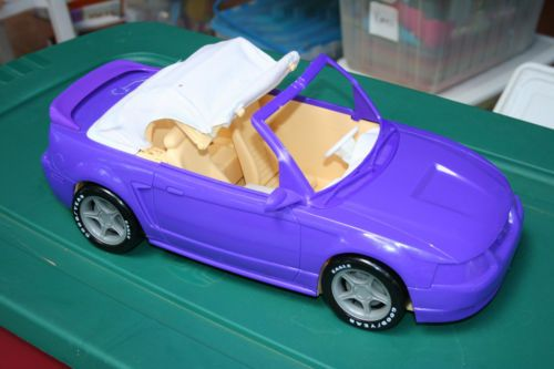 barbie  purple and convertible on pinterest