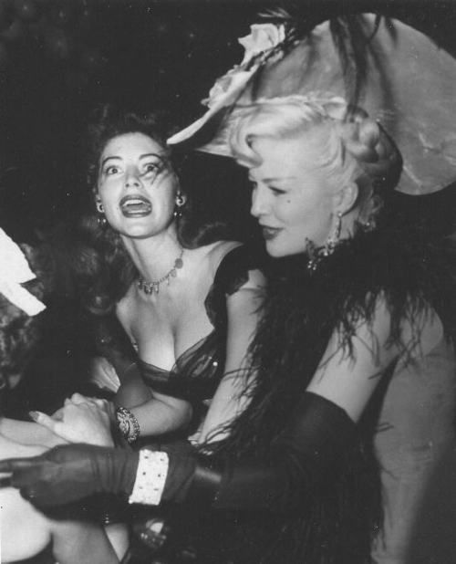 Image detail for -Ava Gardner: A Face Like No Other • Ava Gardner with friend Marilyn ...
