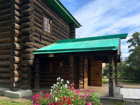 На территории Михайло-Архангельской церкви в городе Чита. Фото: Evgenia Shveda