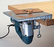 how to make straight cut with reciprocating saw