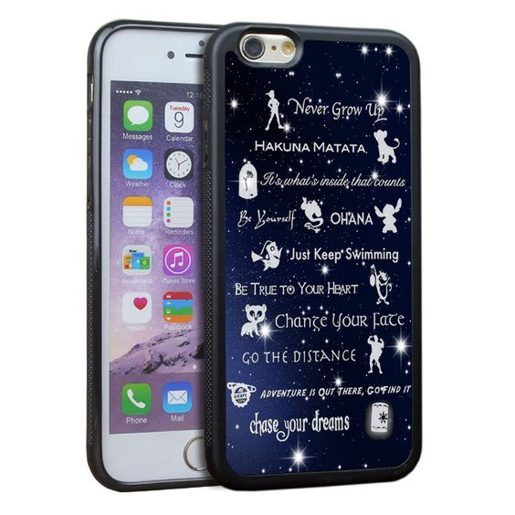 """Disney Lessons Learned Mash Up Tpu Tough Case for iPhone 6,iPhone 6s 4.7"""" Inch"""