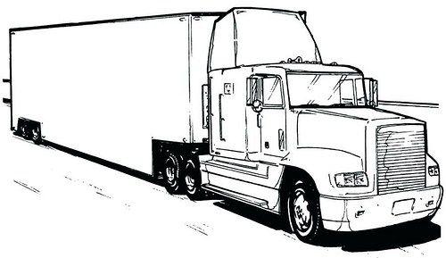 Dibujos De Trailers Para Colorear Imagenes De Camiones Para Pintar Blogicars Autos Carros Coches M Tatuaje De Camion Dibujos De Coches Dibujos De Autos