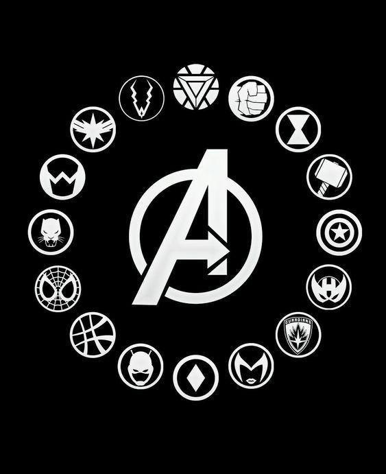 Avenger Symbols Avenger Symbols Marvel Avenger Symbols Logos Avenger Symbols Tattoo Avenger Symbols Ma Avengers Pictures Avengers Tattoo Marvel Tattoos