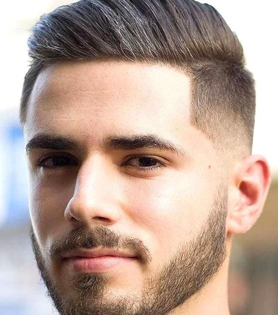 Comb Over with Low Taper Fade