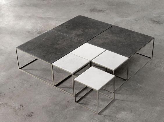 Stone coffee tables   Joan Lao   Alternative   Mobilfresno Group