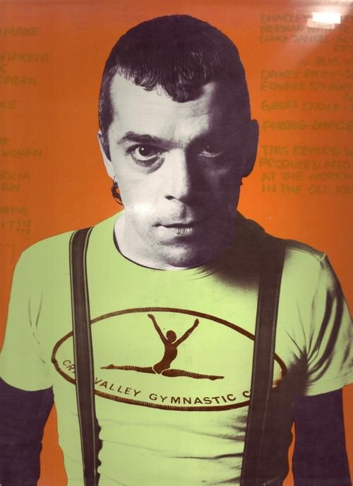 Ian Dury <3 hit me with your rhythm stick and many more classics