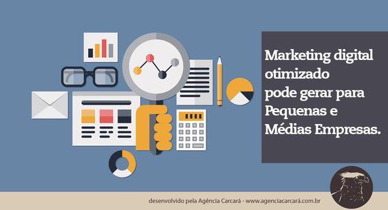 Marketing digital otimizado pode reduzir custo de PMES. O monitoramento de internet e redes sociais é uma arma fundamental para bons resultados em Publicidade e Marketing Digital otimizado, ajudando na redução do custo final de investimentos das médias e pequenas empresas (PMEs) de Brasília.
