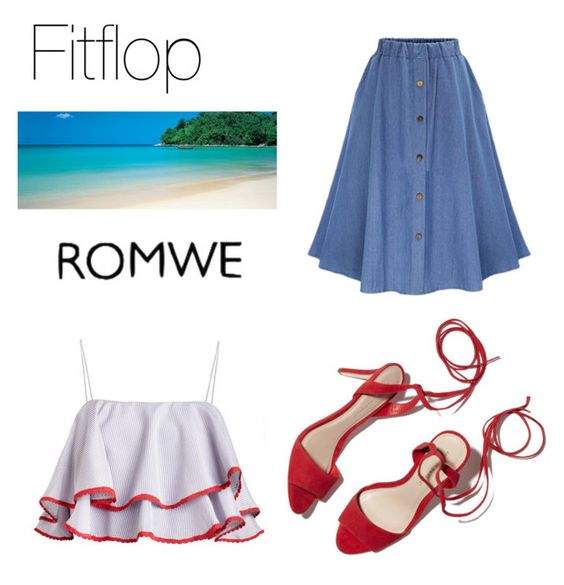 """""""romwe"""" by dolby ❤ liked on Polyvore featuring Loeffler Randall"""