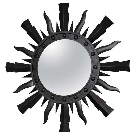 Starburst mirror | From a unique collection of antique and modern sunburst mirrors at https://www.1stdibs.com/furniture/mirrors/sunburst-mirrors/