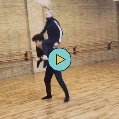 coreografia muito incrível