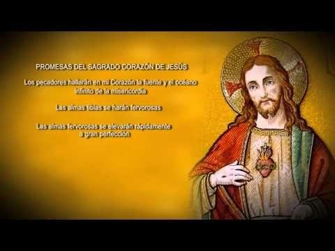 """Promesas del Sagrado Corazón de Jesús """"Al Corazón de Jesús le agradan mucho los servicios de los pequeños y humildes de corazón, y paga con bendiciones sus trabajos"""", decía Santa Margarita…"""