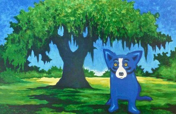 Blue Dog Artist George Rodrigue Services Thursday
