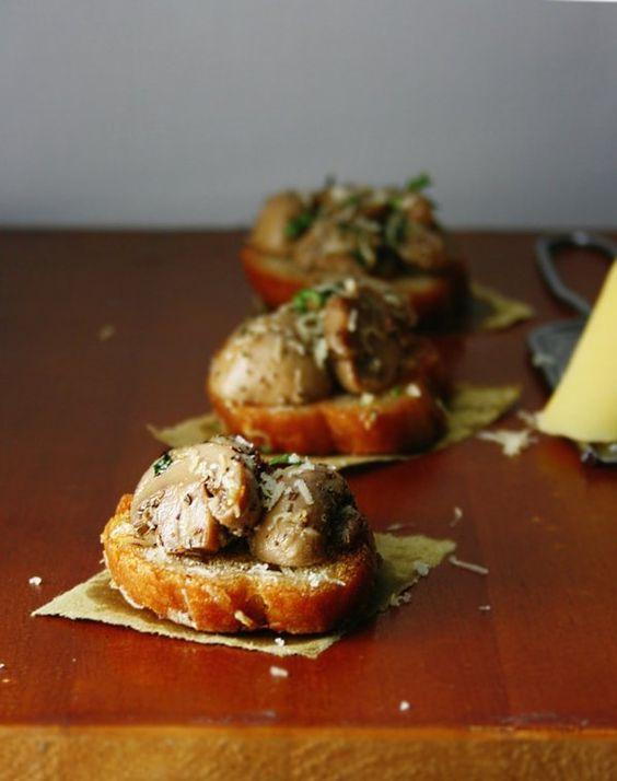 Mushrooms on toast by sasQuat-ch.deviantart.com | Food | Pinterest ...