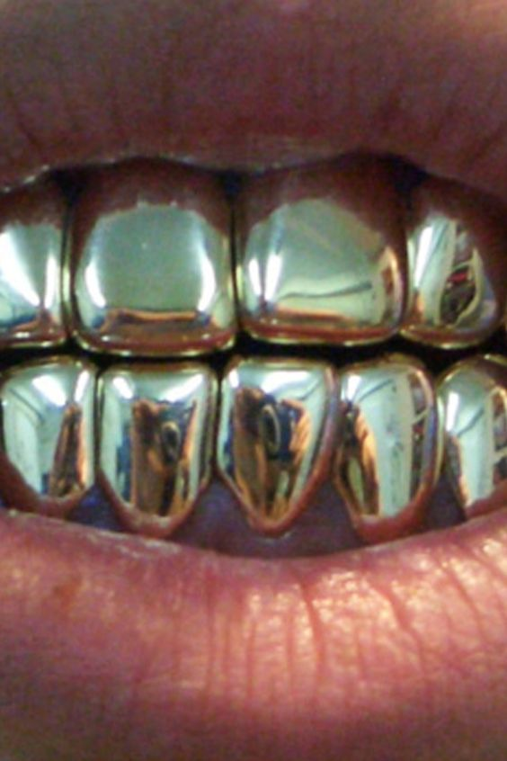 Gold Teeth Boho And Look At On Pinterest