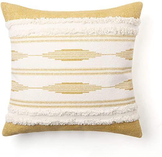 ailsan boho stripes decorative throw