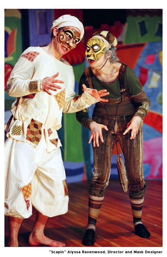 Commedia Dell'Arte Theatre Performance