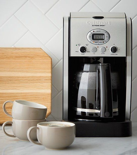 Cuisinart 12 Cup Extreme Brew Coffee Maker Reviews Crate And Barrel In 2020 Coffee Brewing Coffee Making Machine Best Coffee Maker