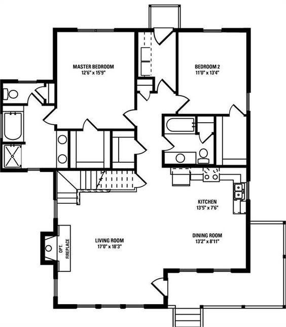 Americas Home Place The Blue Ridge A house plans Pinterest