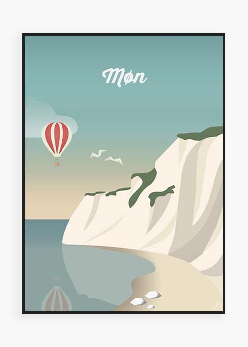 Lonstrup I 2020 Rejseplakat Vintage Plakater Billeder